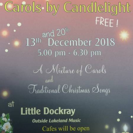 Carols by Candlelight and Late Night Opening