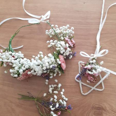 Flower Crown and Fairy Wand Workshop with Flower World Penrith