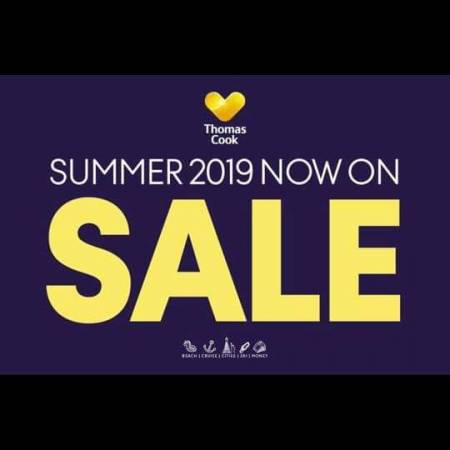 THOMAS COOK SALE
