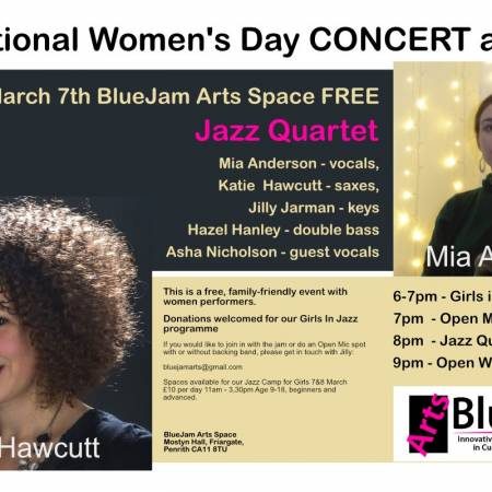 Gig for International Women's Day