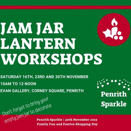 Jam Jar Lantern Decorating Workshop - Penrith Sparkle